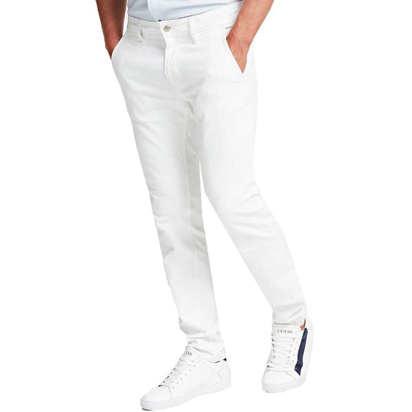 Guess Chris Skinny Jeans -  White M02A27D3ZY1