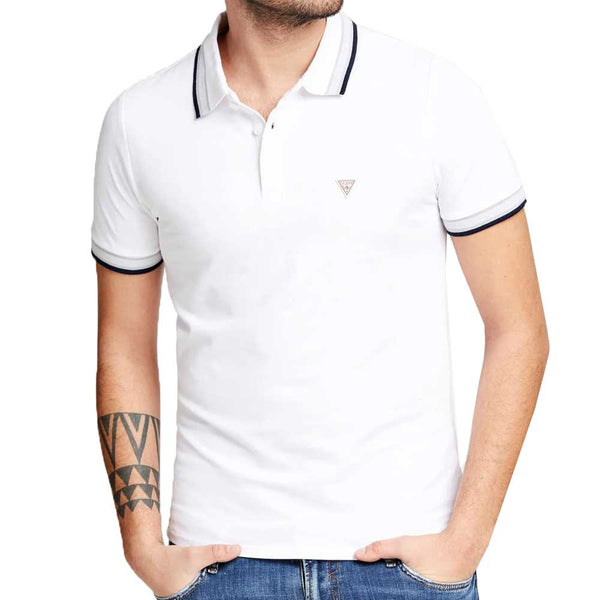 Copy of Guess Grady Polo Shirt - White M02P40K7O60