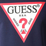 Guess Jared Logo Sweatshirt - Navy - so-ldn