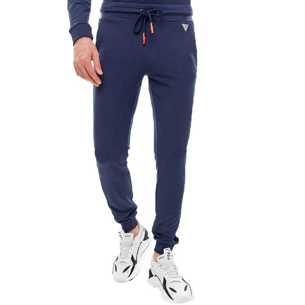 Guess Men's Jogger Sweatpants - Navy - so-ldn