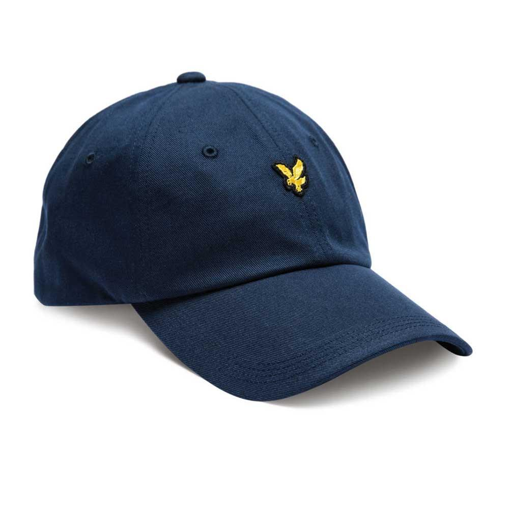Lyle And Scott Baseball Cap - New Navy - so-ldn