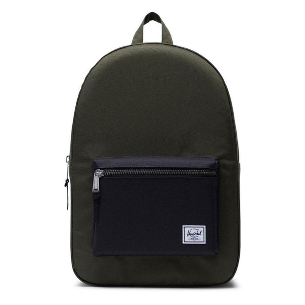 c9a2c4734fb Herschel Supply Co - Settlement Backpack - Forest Night   Black