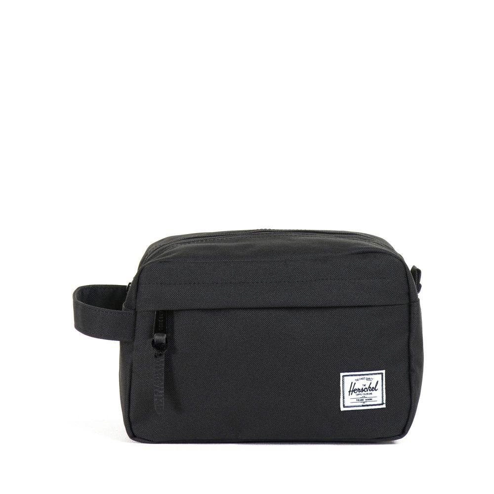 Herschel Supply Co. Chapter Travel Kit Wash Bag - Black - so-ldn
