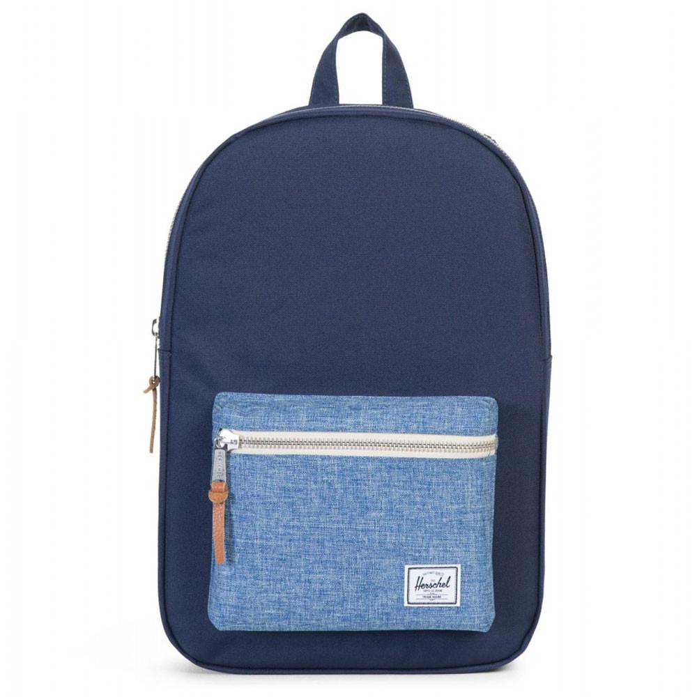 Herschel Supply Co. Settlement Backpack - Peacoat/Limoges Crosshatch - so-ldn