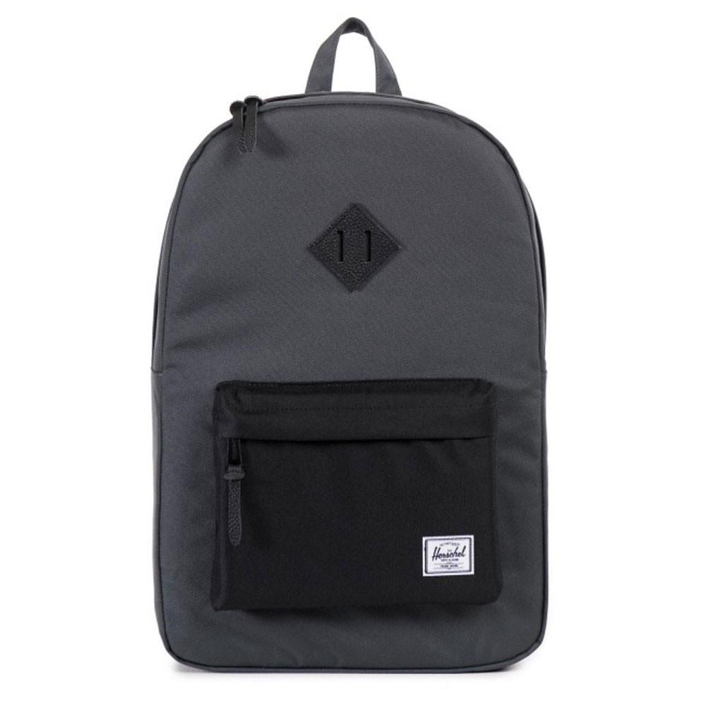 Herschel Supply Co. Heritage Backpack - Grey Dark Shadow / Black - so-ldn