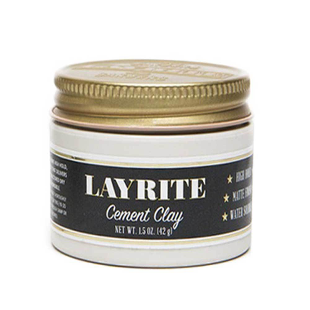 Layrite Travel Size Cement Hair Clay Cream - so-ldn