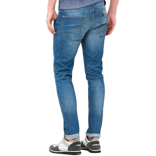 Lee Jeans Luke Slim Tapered Fit Denim Jeans - Authentic Blue - so-ldn