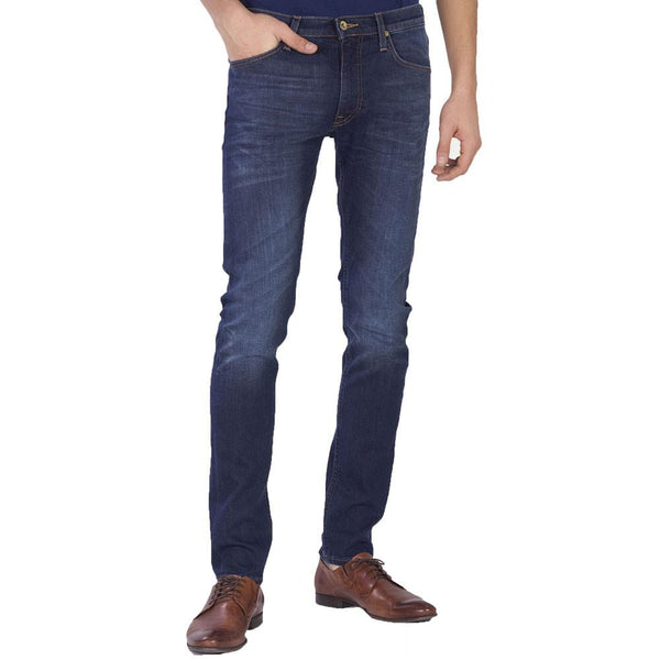 Lee Luke - Slim Tapered Fit Jeans - True Authentic Blue - so-ldn