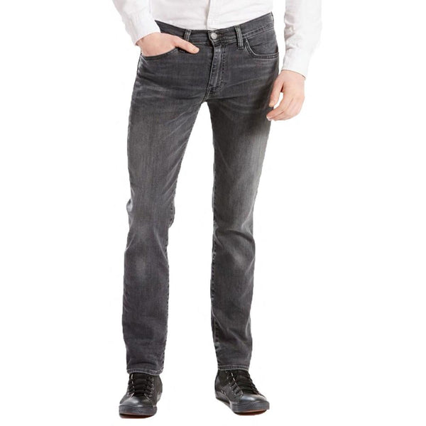 Levi's 511 Slim Fit Denim Jeans Headed East Warp Stretch - Grey 04511-2091 - so-ldn