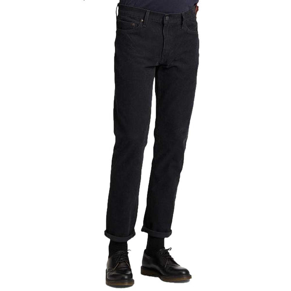 Levi's 511 Warp Stretch Slim Fit Mens Cords Caviar Black - 04511-3856