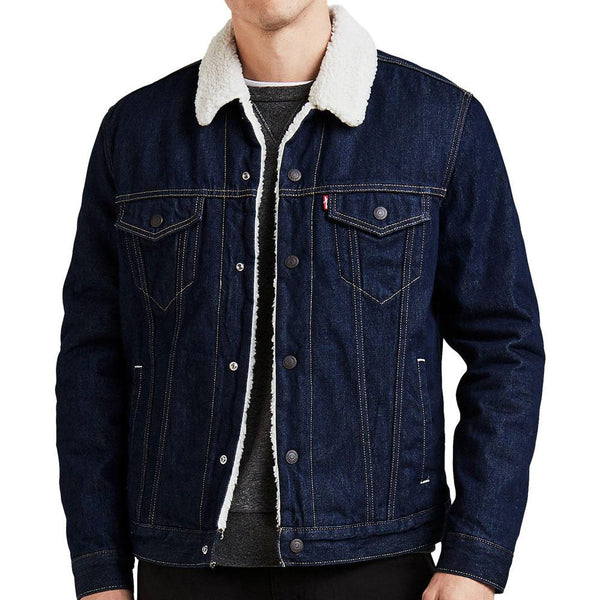 Levi's Type 3 Sherpa Trucker Jacket (Raw Power) - so-ldn
