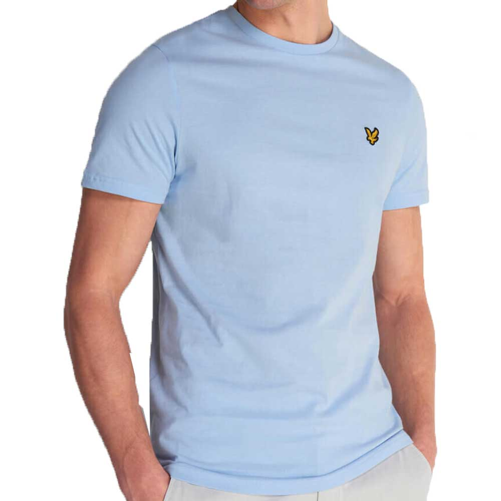 Lyle And Scott Crew Neck T-Shirt - Pool Blue TS400V