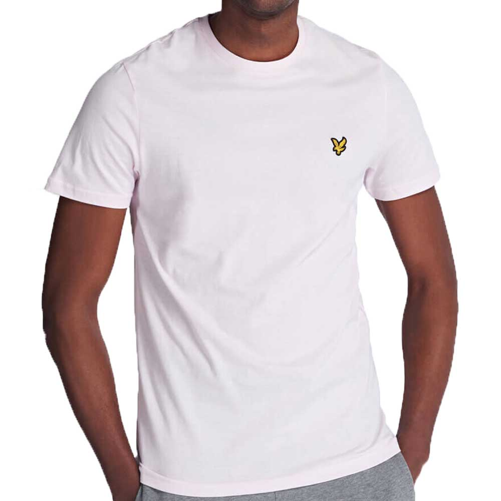 Lyle And Scott Crew Neck T-Shirt - Strawberry Cream TS400V