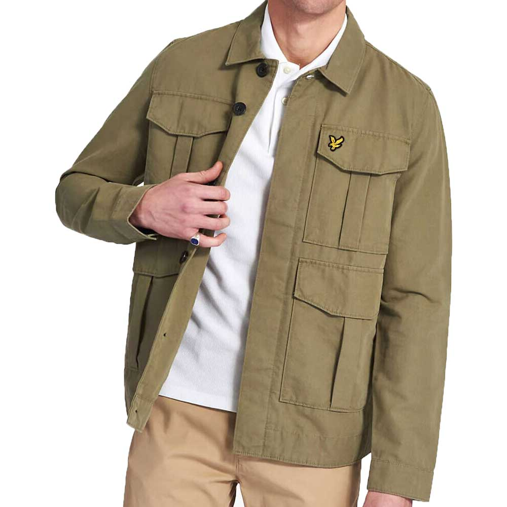 Lyle And Scott Utility Jacket - Lichen Green JK1219VZ801