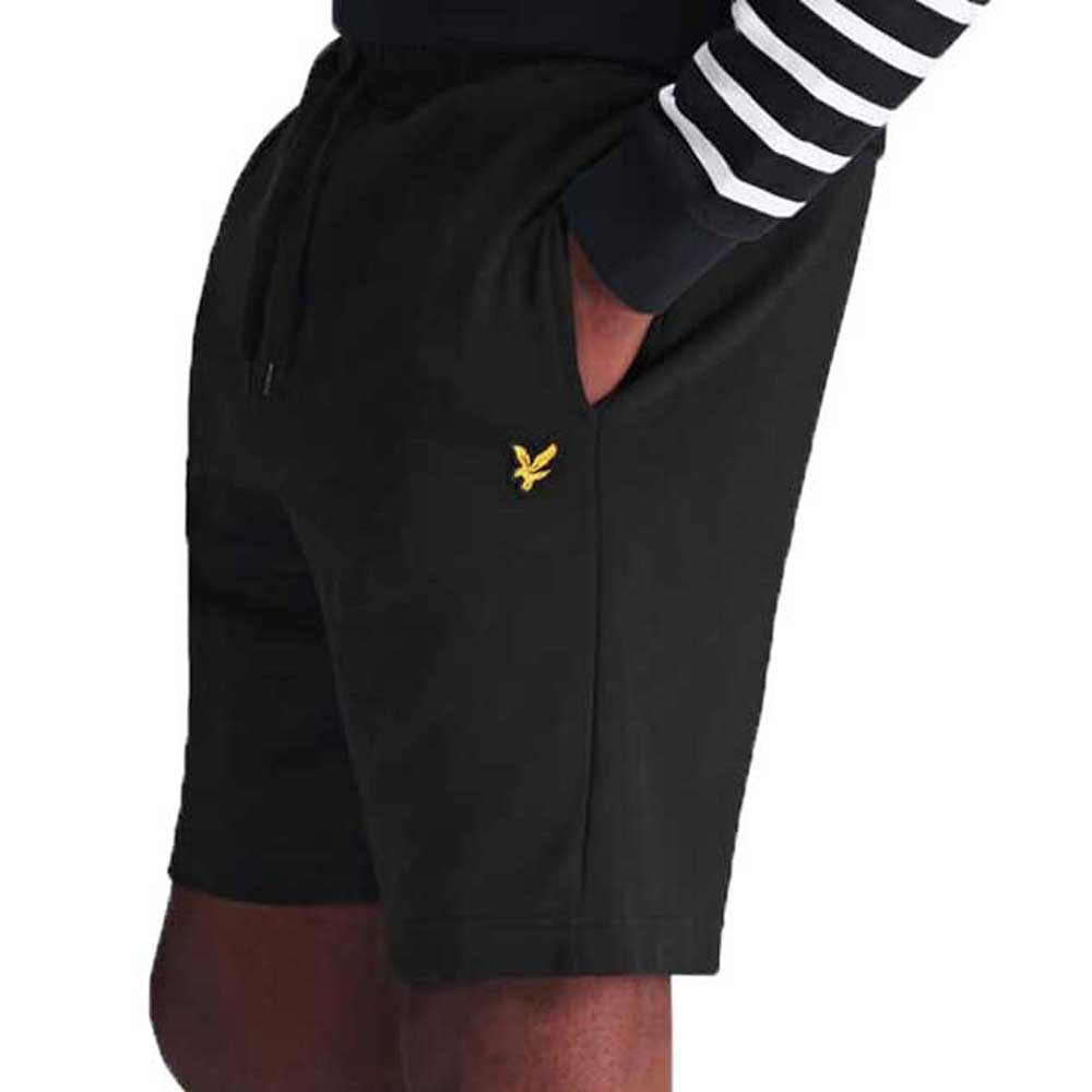 Lyle & Scott Black Sweat Short - ML414VTR
