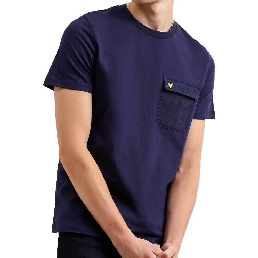 Lyle & Scott  Nylon Pocket T-Shirt - Navy TS1125V