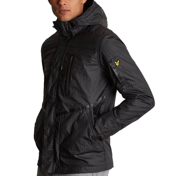 Lyle & Scott Casuals Zip Through Jacket - True Black - so-ldn