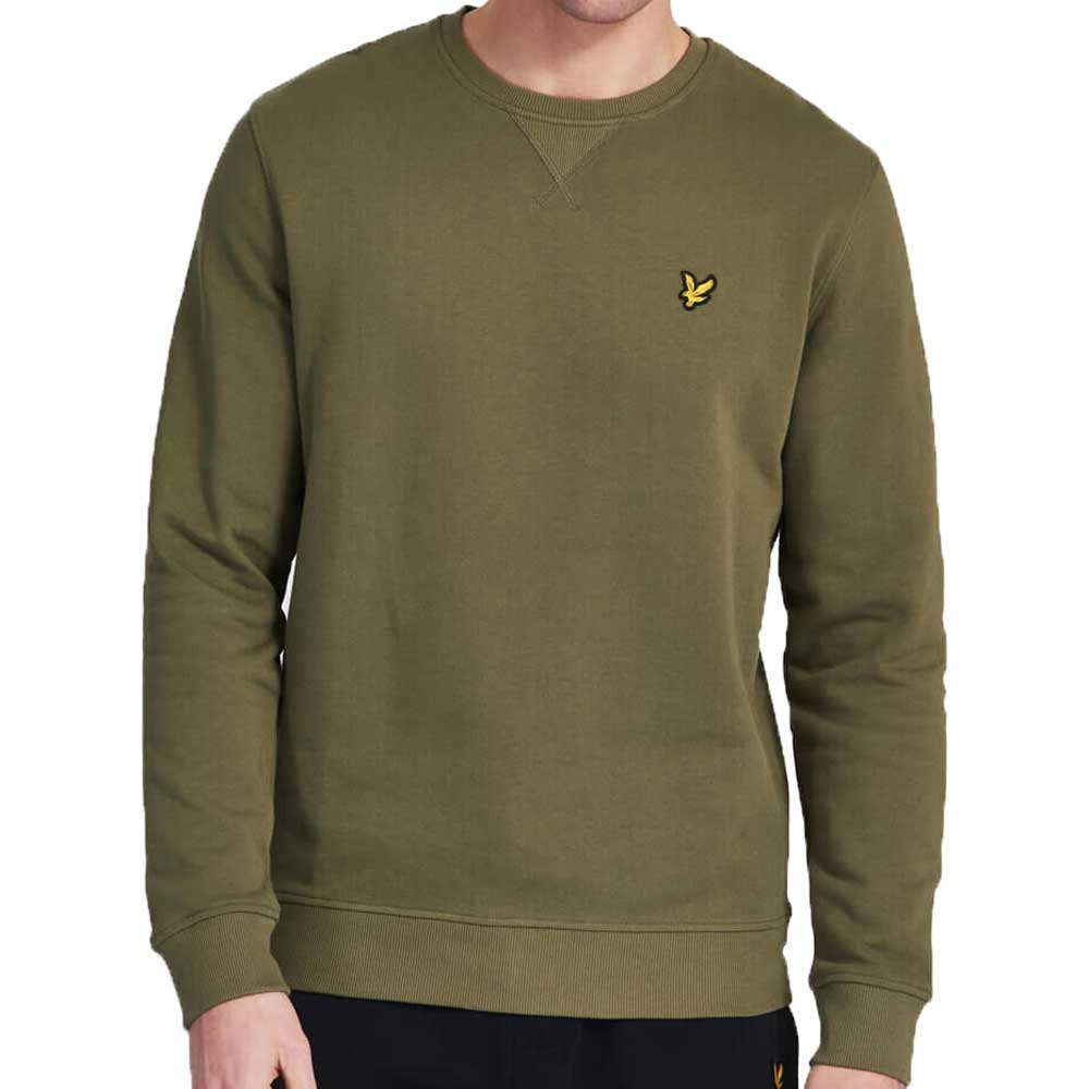 Lyle & Scott Crew Neck Sweatshirt - Lichen Green  ML424VTR
