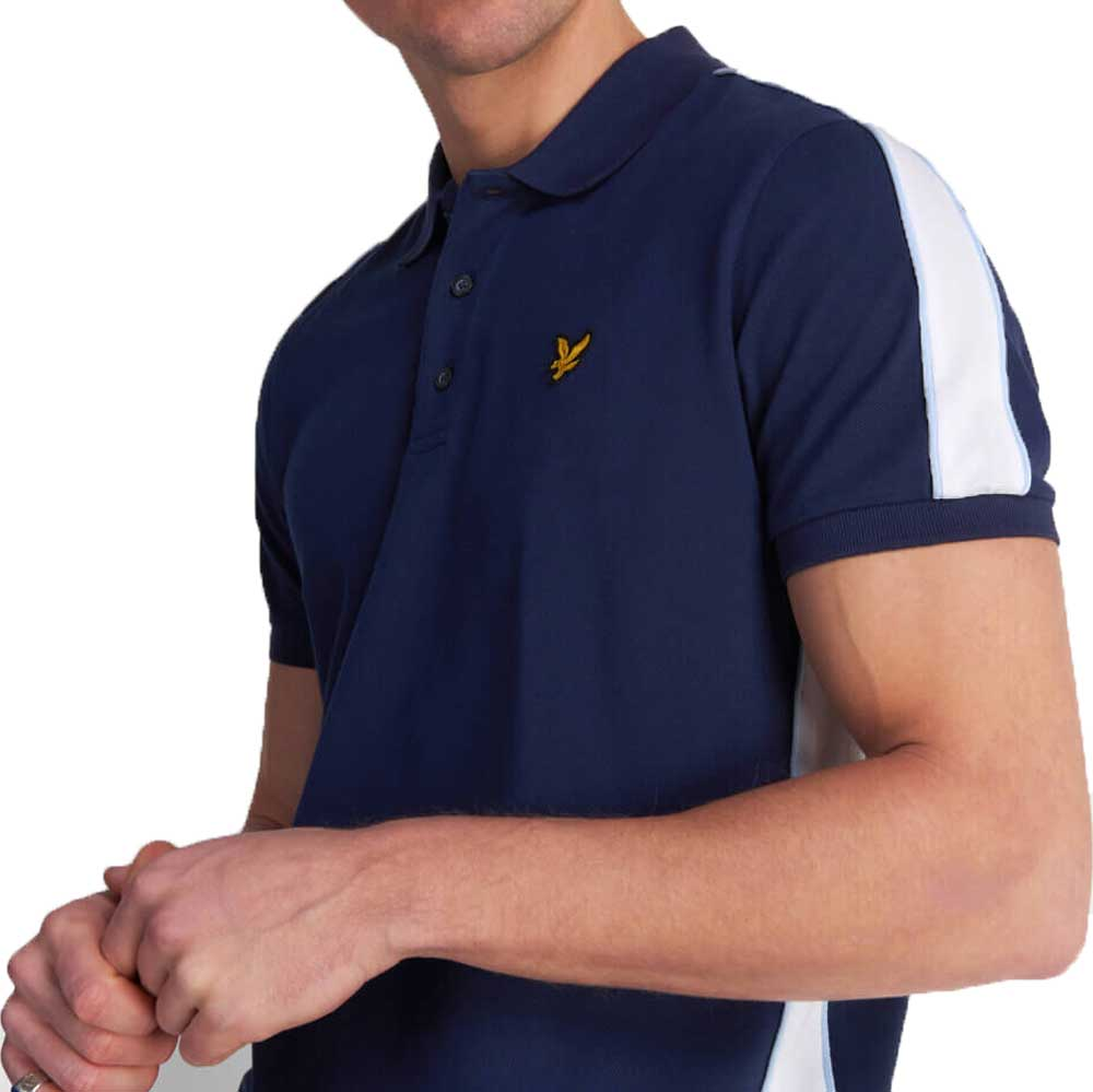 Lyle & Scott Piped Polo Shirt - Navy SP1218VZ