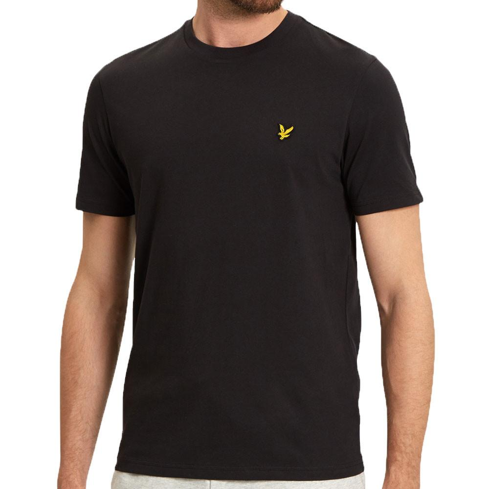 Lyle & Scott Crew Neck T-Shirt - Black - so-ldn