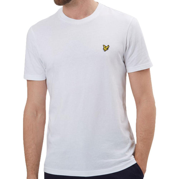 Lyle and Scott Crew Neck T-Shirt - White - so-ldn