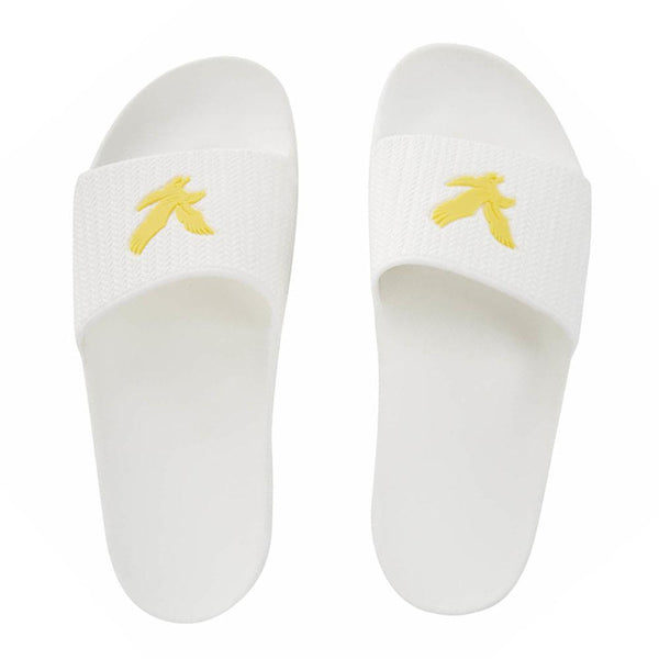 Lyle And Scott Thomson Sliders White - so-ldn