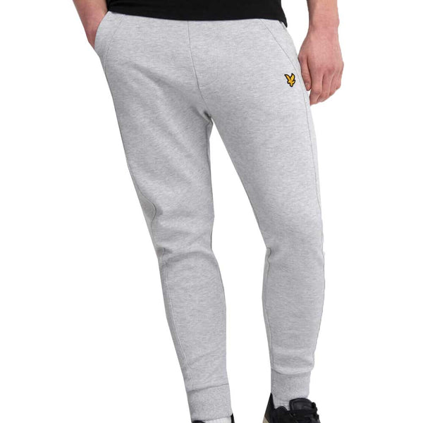 Lyle and Scott pique Trackpant - Light Grey Marl ML1248V
