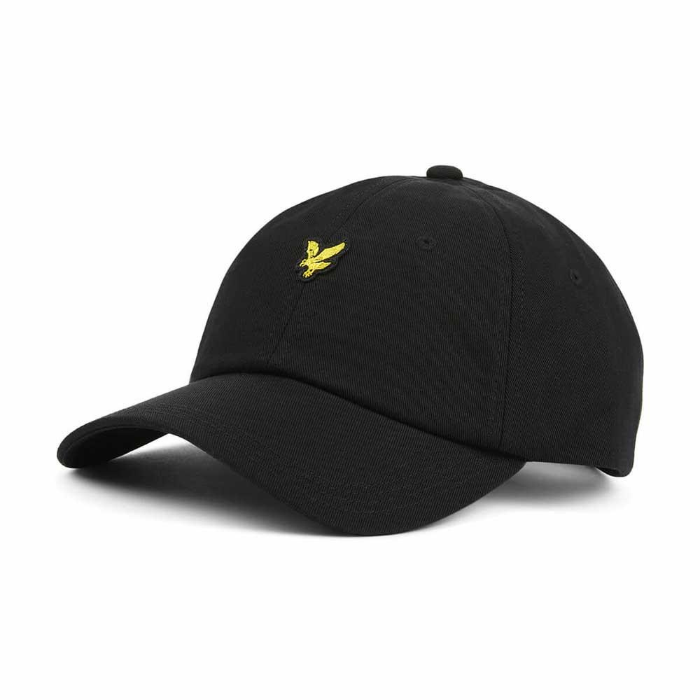 Lyle And Scott Baseball Cap - True Black HE503A - so-ldn