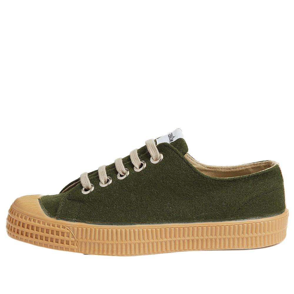 Novesta Star Master Felt Trainers - Army Green - so-ldn