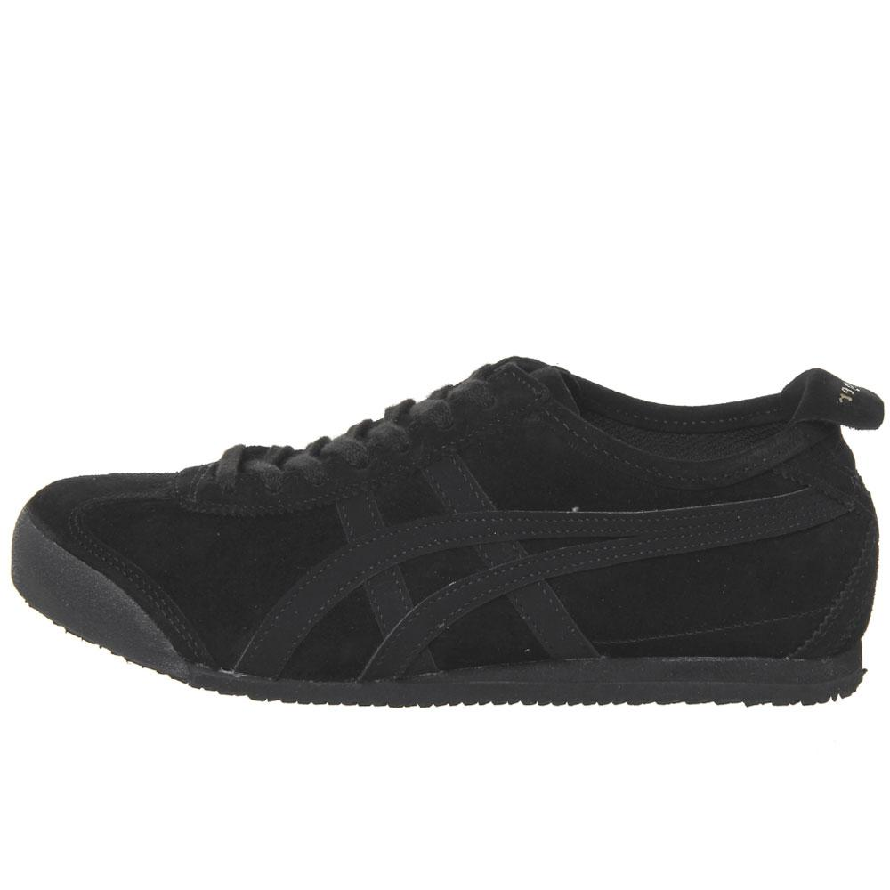 Onitsuka Tiger Mexico 66 Trainers - Black Suede - so-ldn