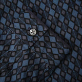 Pretty Green Abbott Aop Shirt - Navy - so-ldn