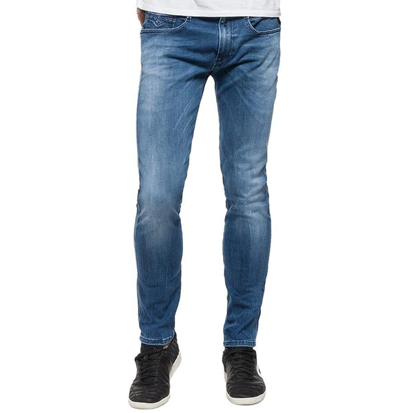 Replay HYPERFLEX Anbass Slim fit Jean - Light Blue - so-ldn