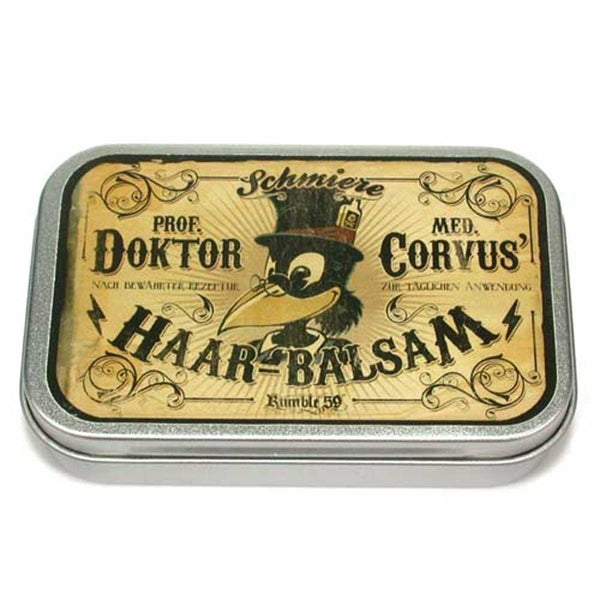 Rumble 59 Schmiere Pomade Dr. Corvus Hair Balm - Mint - Medium Hold - so-ldn