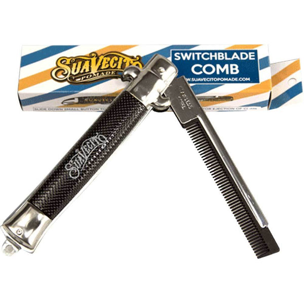 Suavecito Switchblade Comb - so-ldn