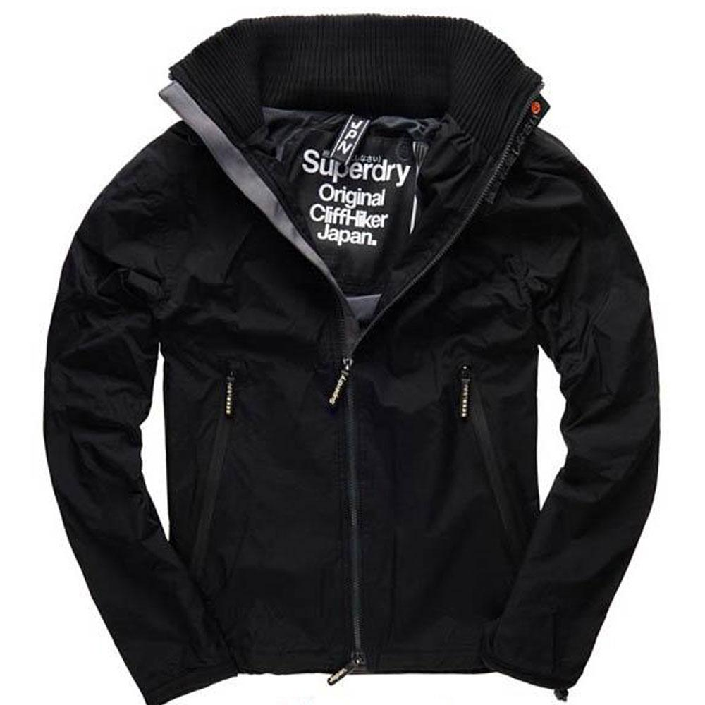 Superdry Cliff Hiker Jackets - Black / Charcoal - so-ldn