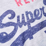 Superdry Mens Vintage Authentic Duo T-Shirt Ice Marl - so-ldn
