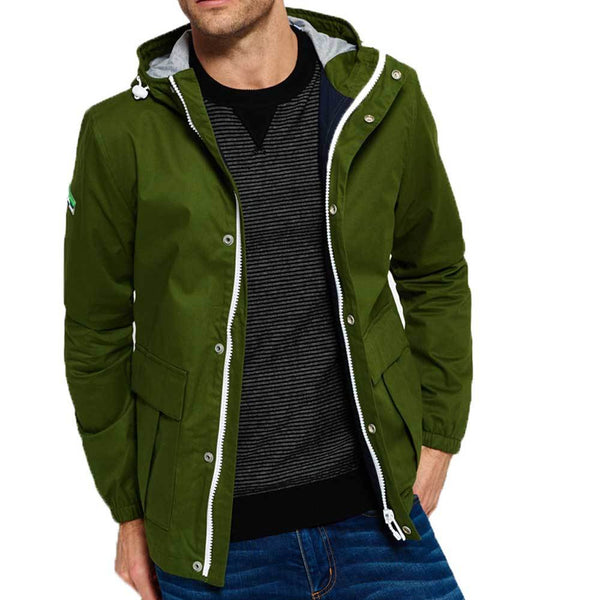 Superdry New York Harbour Coat - Harbour Green - so-ldn
