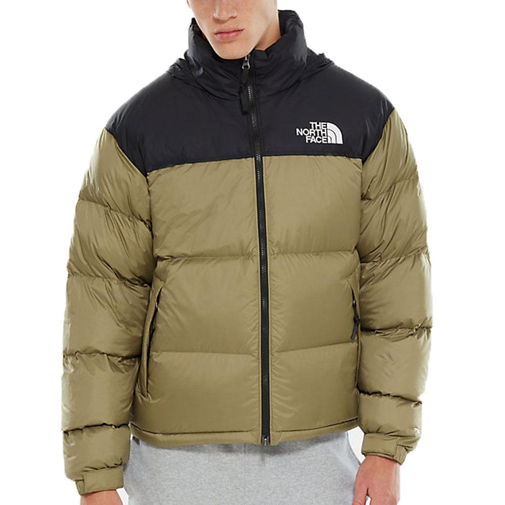 THE NORTH FACE Green 1996 Retro Nuptse Down Jacket - Tumbelweed Green - so-ldn