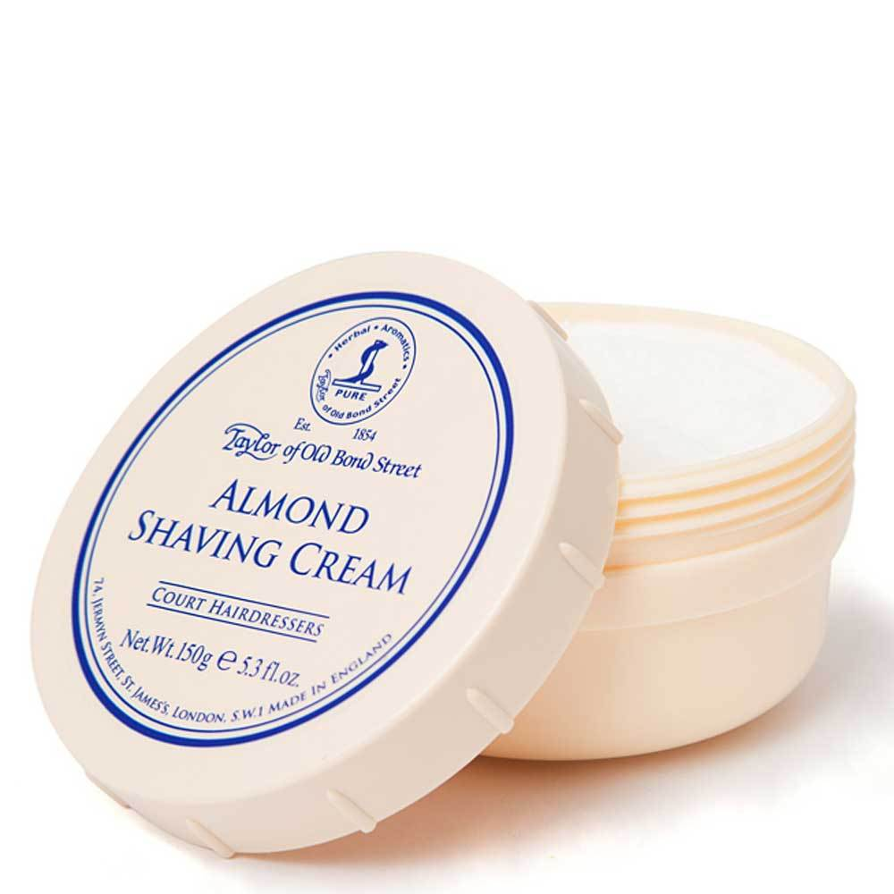 Taylor of Old Bond Street Almond Shaving Cream Tub - so-ldn