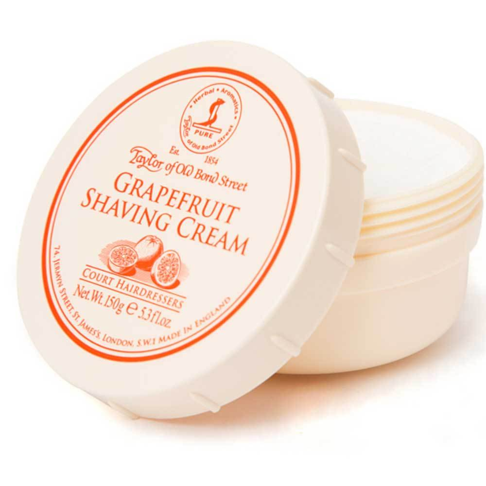 Taylor of Old Bond Street Grapefruit Shaving Cream Tub - so-ldn