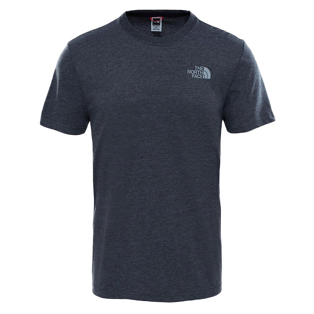 The North Face Men's Red Box T-shirt Tnf Dark Grey Heather / silver Reflective - so-ldn