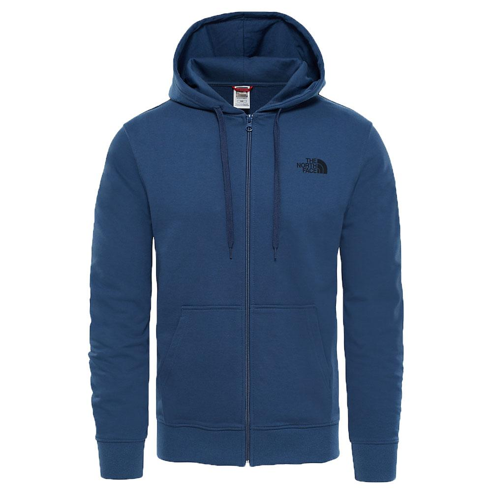 The North Face Open Gate Full Zip Light Hoodie Blue Wing Teal - so-ldn