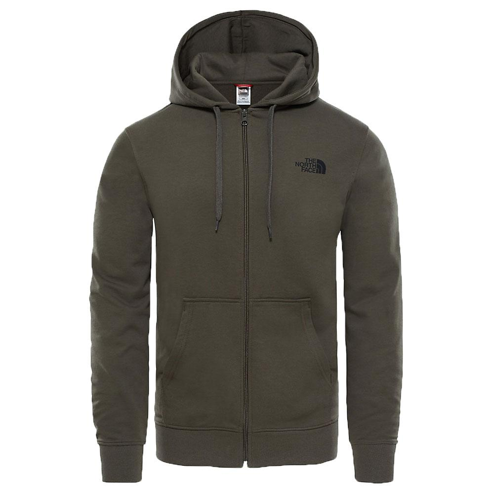 The North Face Open Gate Full Zip Light Hoodie New Taupe Green - so-ldn