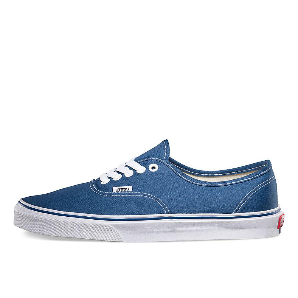 Vans Navy Authentic Canvas Trainers - VN0A3-EE3NVY - so-ldn