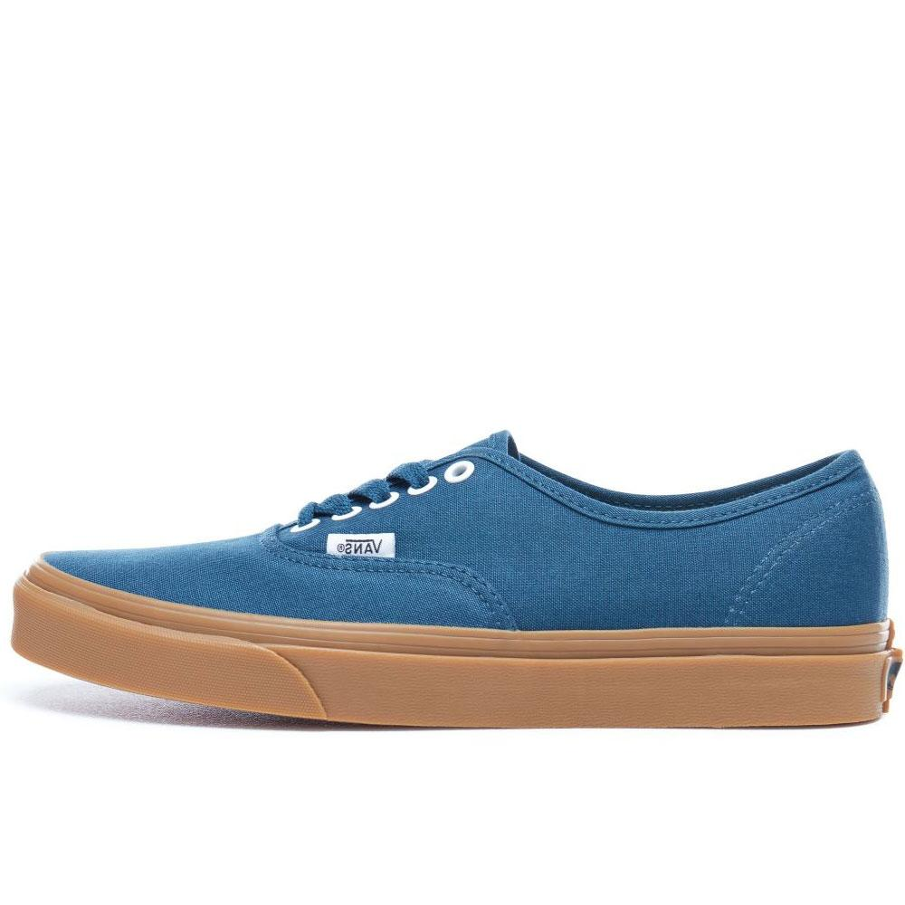 48038b021a VANS Authentic Trainers - Navy Reflecting Pond-gum - so-ldn