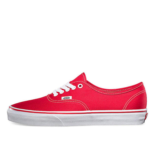Vans Red Authentic Canvas Trainers - VN0A3-EE3RED - so-ldn