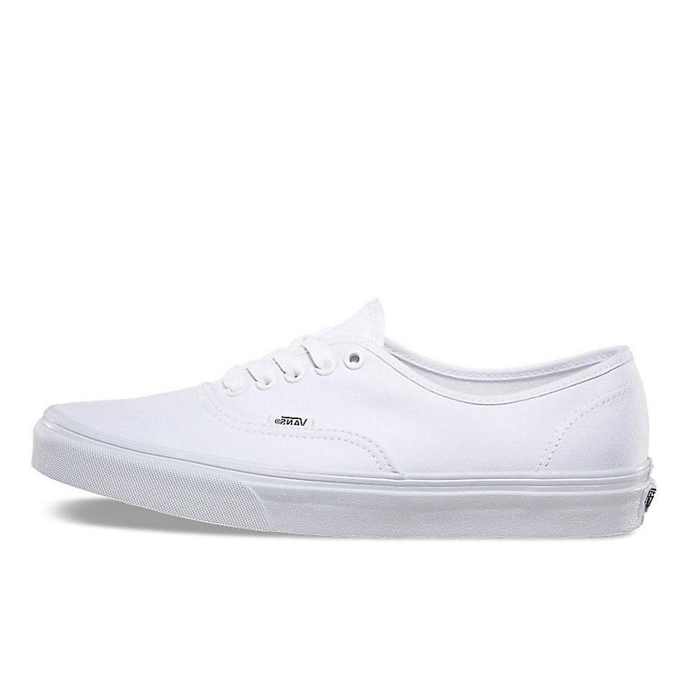 fdc54f07258950 Vans White Authentic Canvas Trainers - VN0A3-EE3W00 - so-ldn