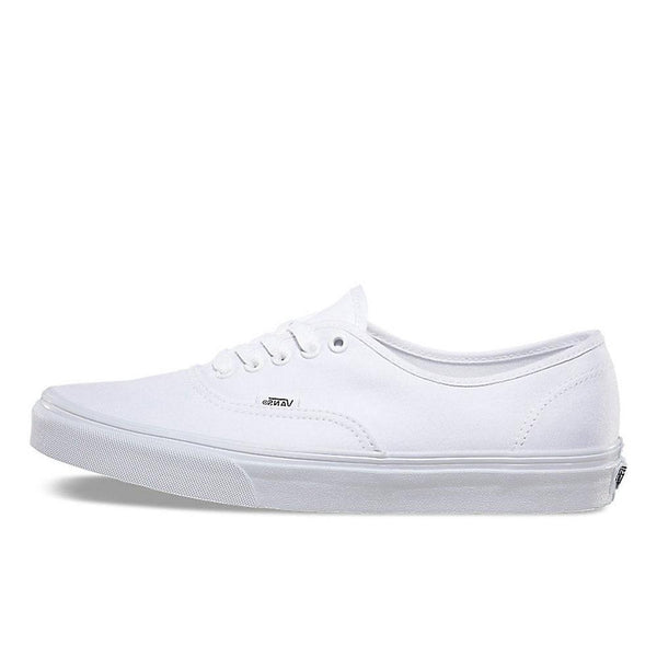 Vans White Authentic Canvas Trainers - VN0A3-EE3W00 - so-ldn