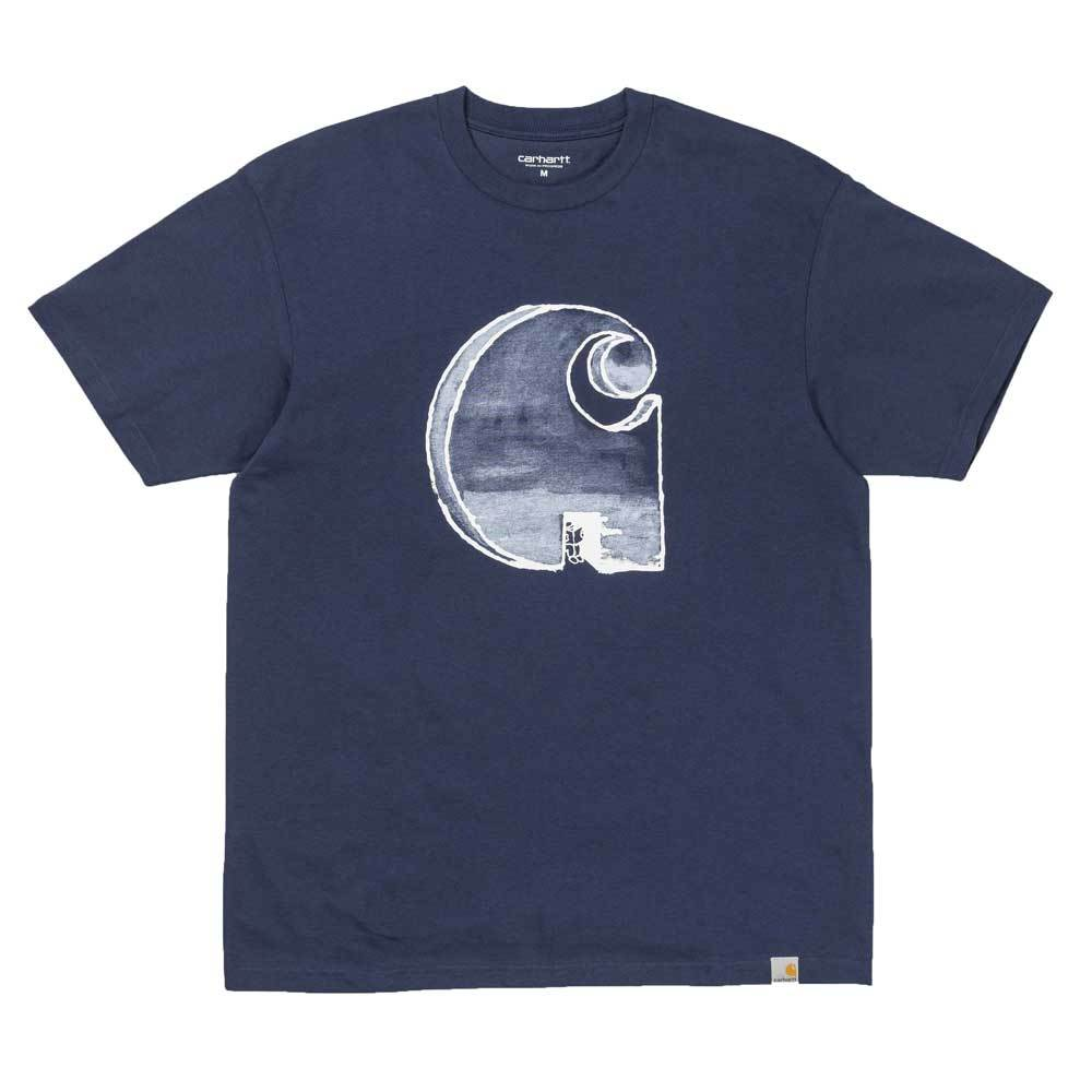 Carhartt WIP S/S Way Through T-Shirt - Navy - so-ldn