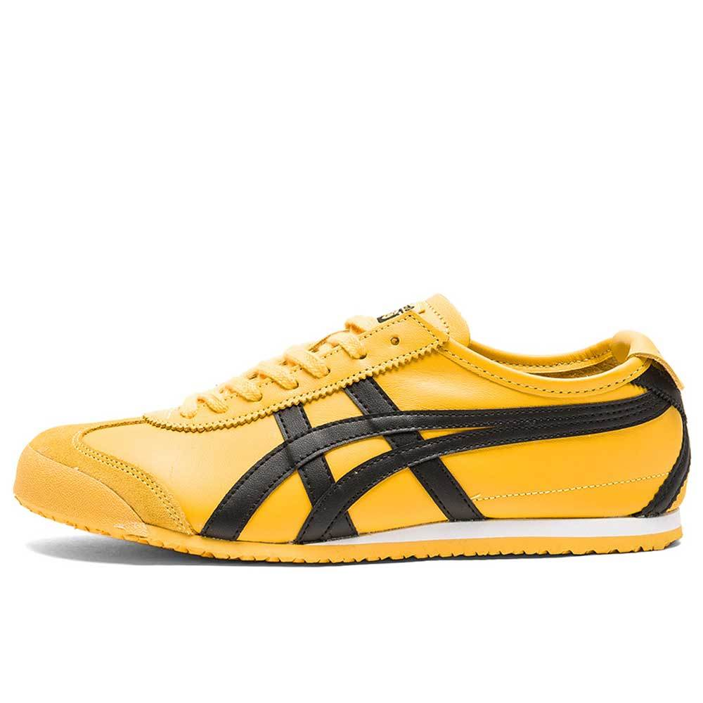 Onitsuka Tiger Mexico 66 Trainers - Yellow / Black - so-ldn